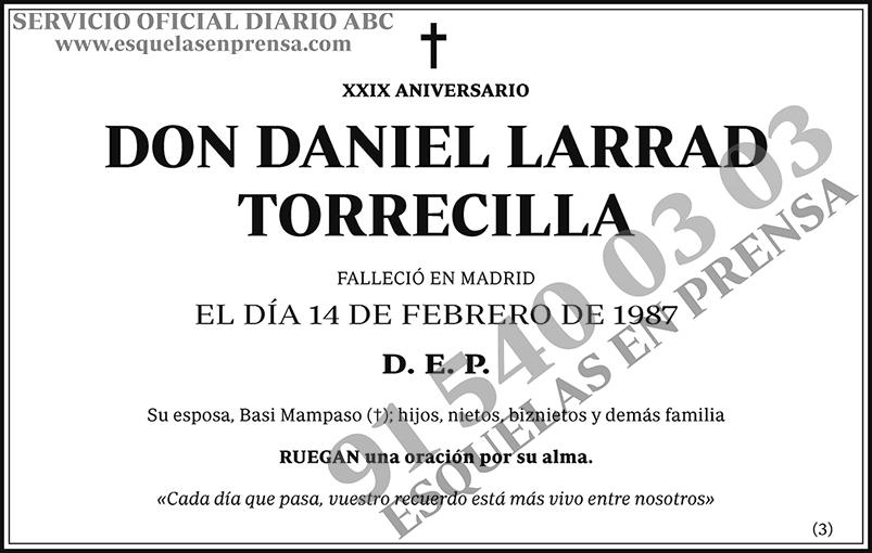 Daniel Larrad Torrecilla